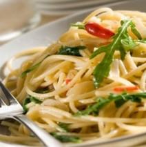 Spaghetti aglio e olio – Knoblauch und Öl