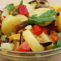Insalata di patate – Sizilianischer Kartoffelsalat
