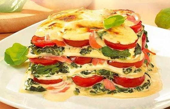 Lasagne in vielen variationen italienische küche