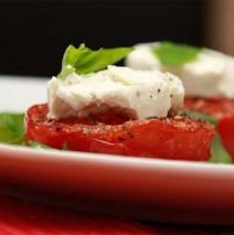Gratinierte Tomaten mit Ziegenkäse