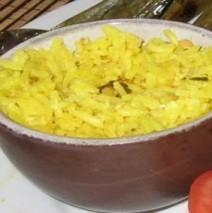 Italienischer Zitronenreis – Riso al limone