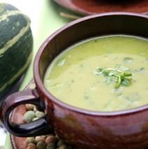 Minestra di zucchini – Zucchinisuppe