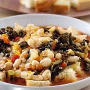 Zuppa di fagioli alla fiorentina – Florentinische Bohnensuppe
