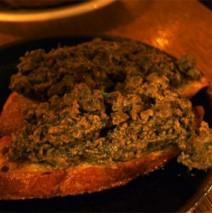 Crostini alla toscana – Crostini mit Hühnerleber