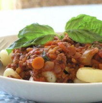 Riccota-Gnocchi mit Tomatensauce