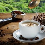 Italien und Kaffee