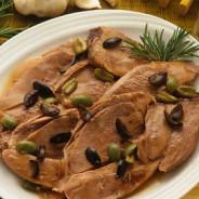 Agnello alle olive – Lamm mit Oliven